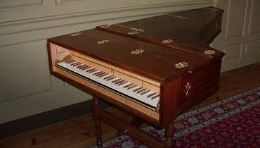 English Musical Instruments - Harpsichord Maker UK