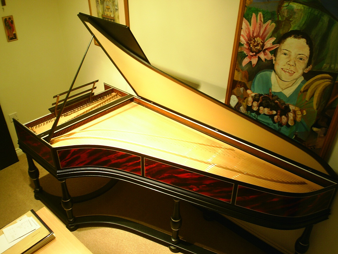 SINGLE MANUAL HARPSICHORD AFTER JOHANN ADOLPH HASS